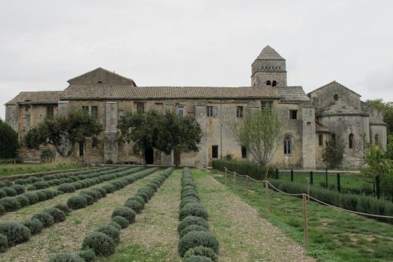 Vue du Monastère Saint-Paul-de-Mausole.