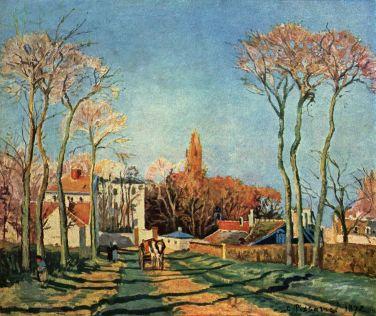 Entrée du village de Voisins, 1872, Musée du Louvre, Paris