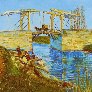 Le pont de Langlois aux lavandières, 1888, Otterlo