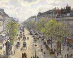 Le boulevard Montmartre, matinée de printemps, 1897
