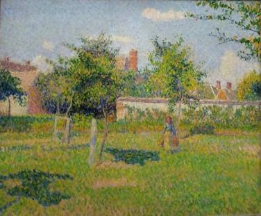 Soleil de printemps, dans le pré à Eragny, 1887, Musée d'Orsay, Paris