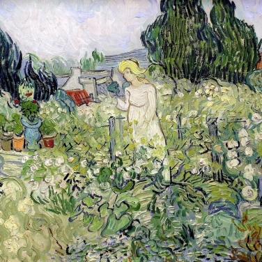 Mademoiselle Gachet au jardin, 1890, Paris