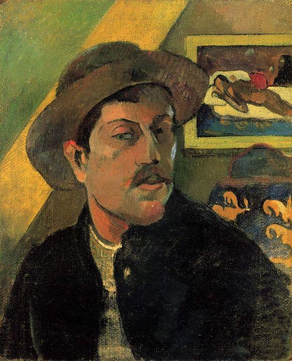 Paul Gauguin, Autoportrait, 1893, Musée d'Orsay