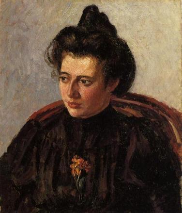 Portrait de Jeanne, 1898, Fondation Rau pour le Tiers Monde, Suisse
