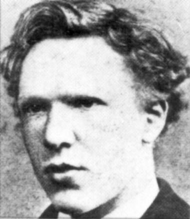 Vincent Van Gogh, 18 ans.