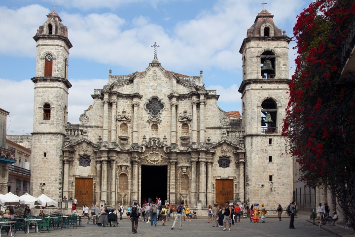 Cathedral of The Virgin Mary of the Immaculate Conception Havana Cuba