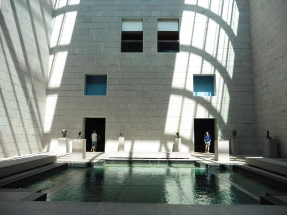 La cour intérieure du Musée des Beaux-Arts d'Ottawa