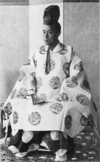 Le dernier Shogun du Japon, Tokugawa Yoshinobu, en 1867