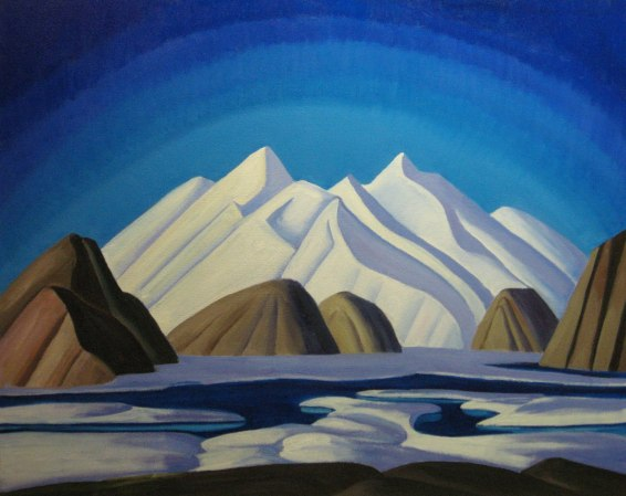 Lawren Harris, North Shore, Baffin Island, 1930